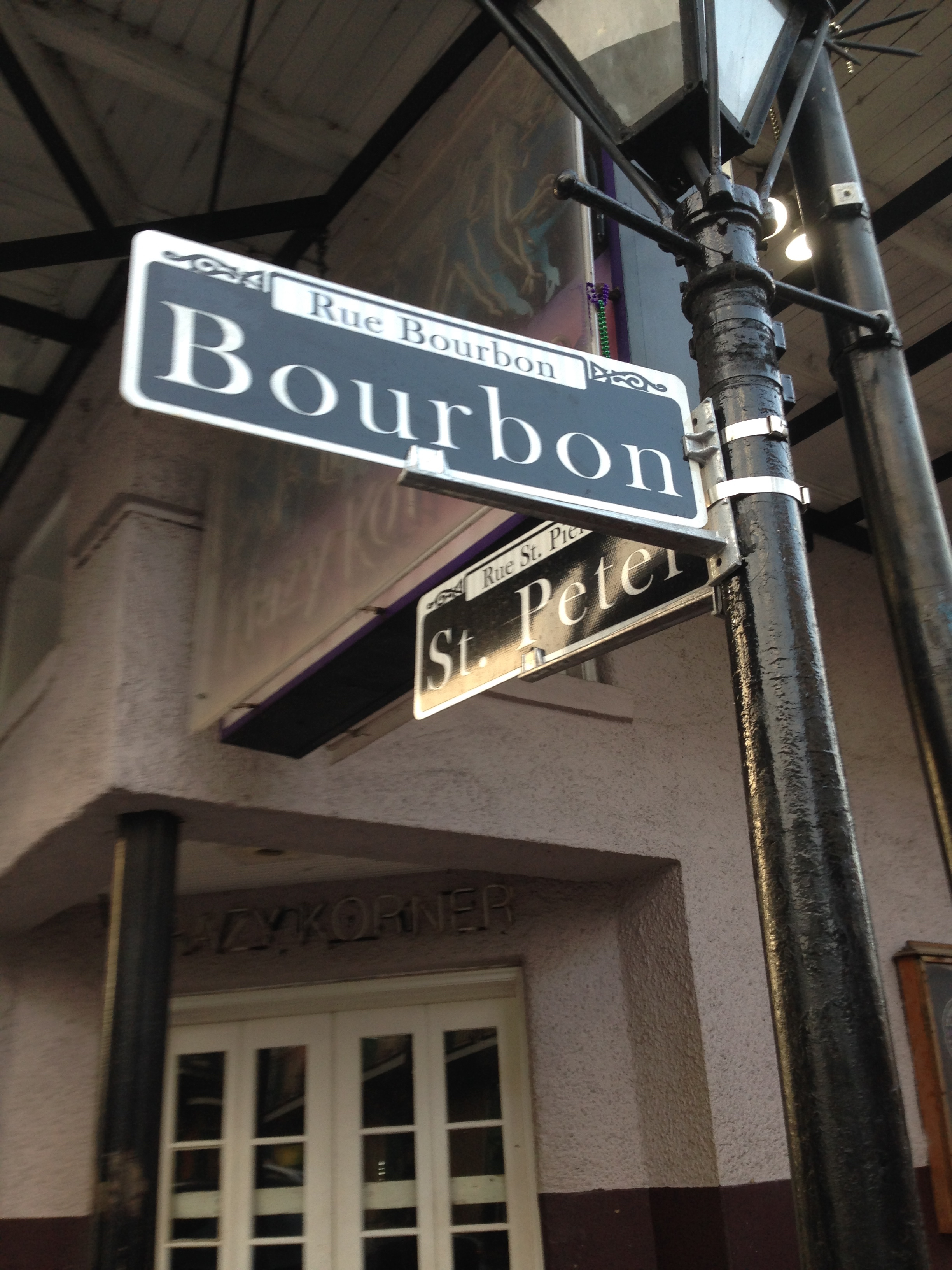 Bourbon Steet New Orleans LA
